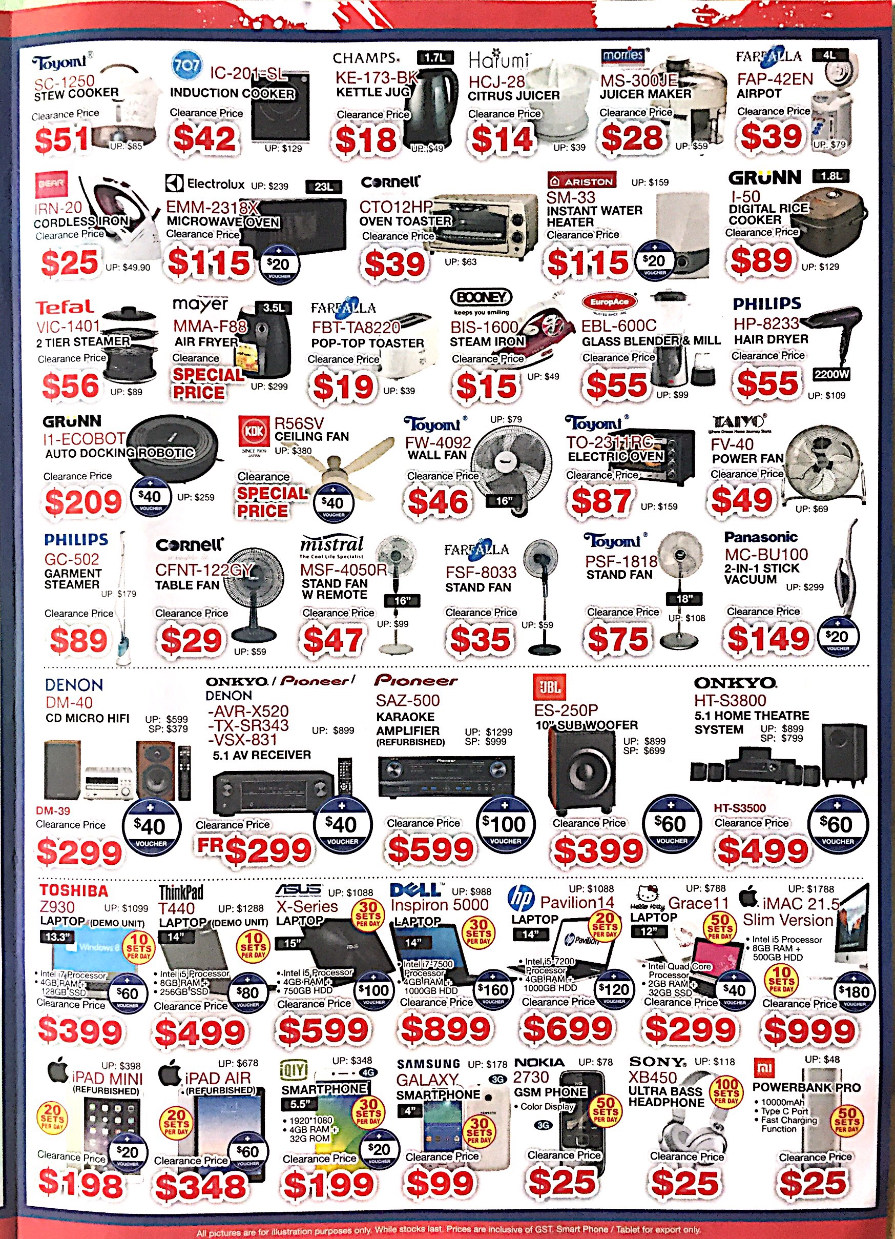 Warehouse Stock Clearance @ Audio House | 9-26 Sept 2017 | pg6