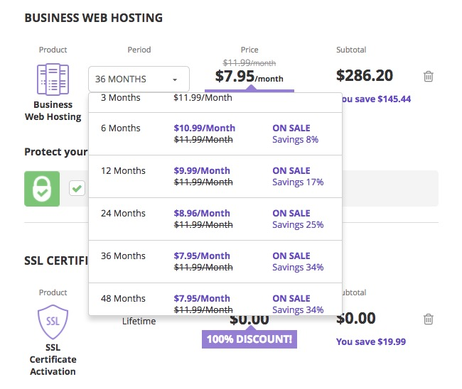 Hostinger Business Web Hosting Plan