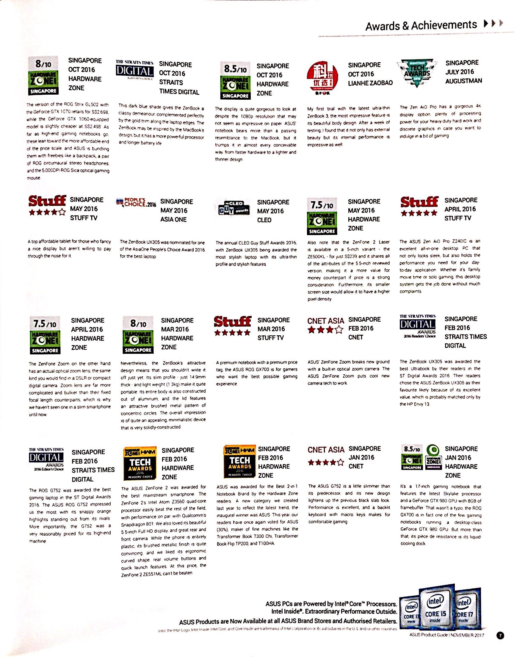 ASUS Deals @ CEF Show 2017 | Brochure pg9