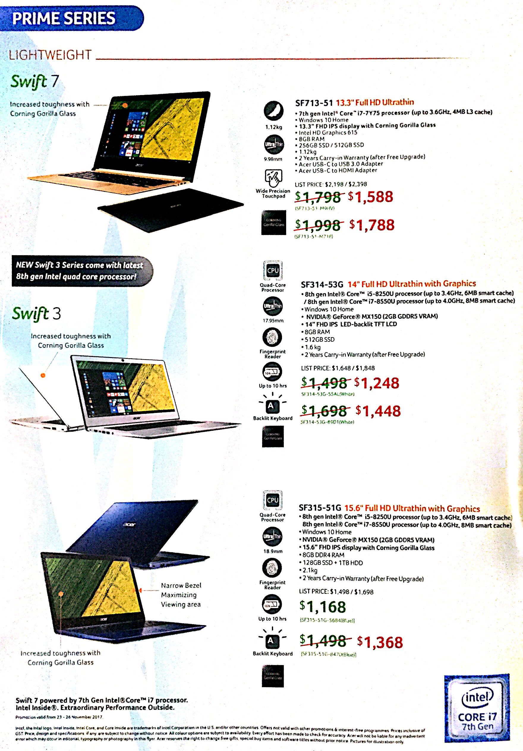 Acer Deals @ SITEX 2017 | Brochure pg2