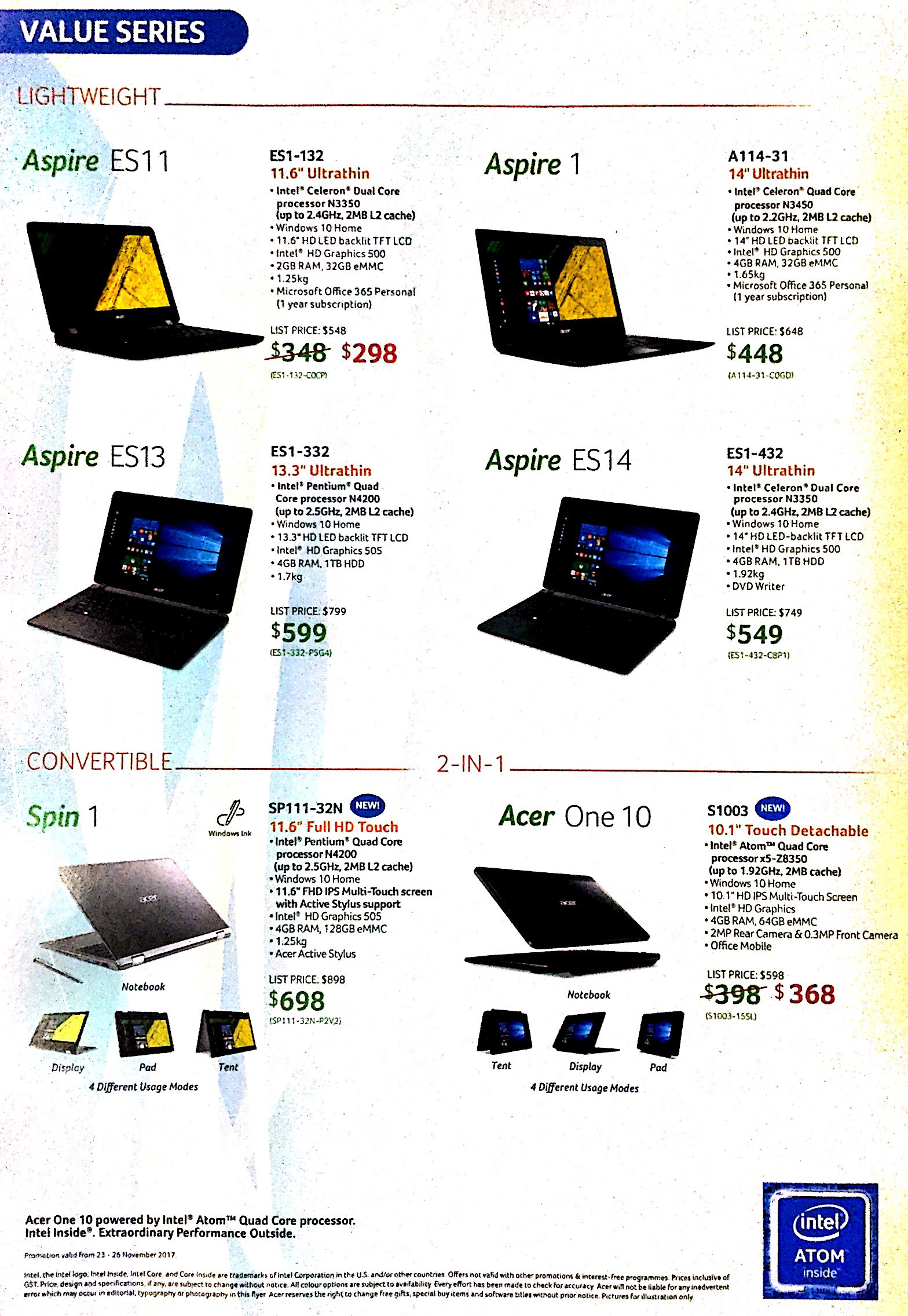 Acer Deals @ SITEX 2017   Brochure pg6