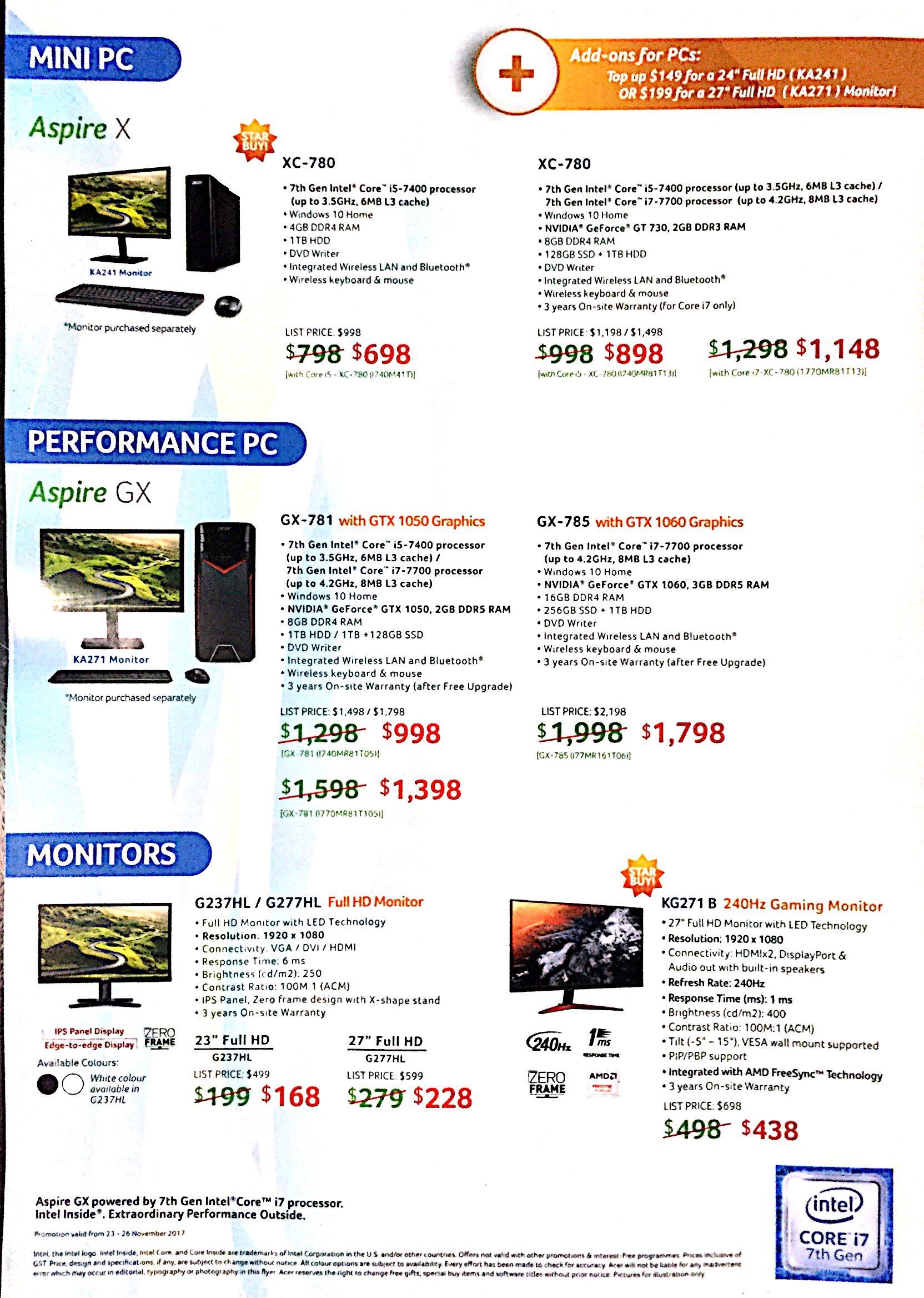 Acer Deals @ SITEX 2017   Brochure pg8