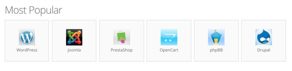 Best Cheap Web Hosting Singapore | Hostinger Most Popular Software Auto Installers