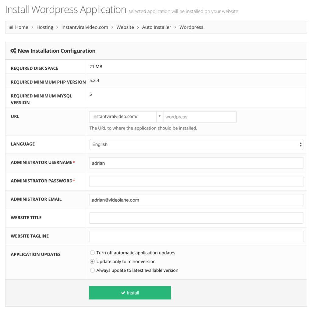 Best Cheap Web Hosting Singapore | Hostinger WordPress Auto Install
