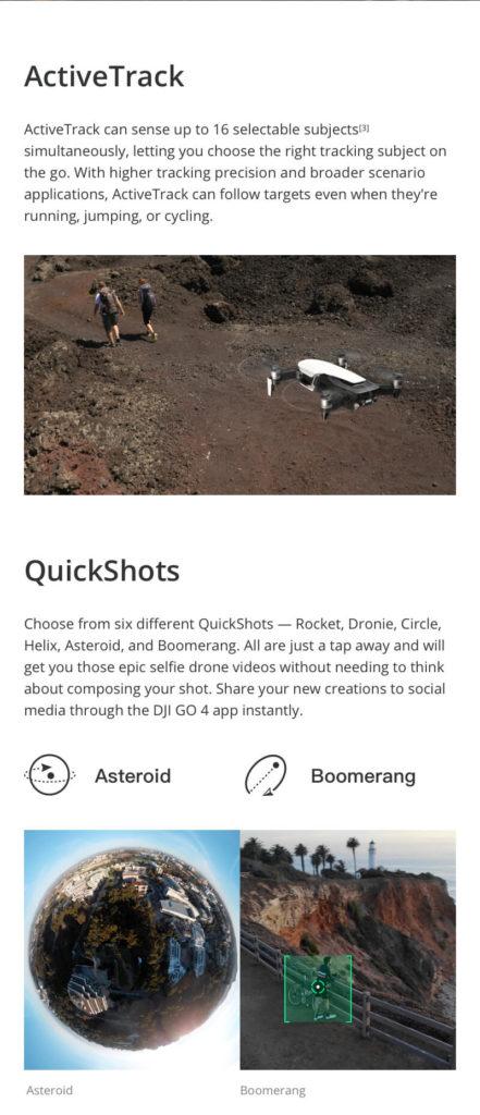 DJI Mavic Air - Active Tracking and Quick Shots