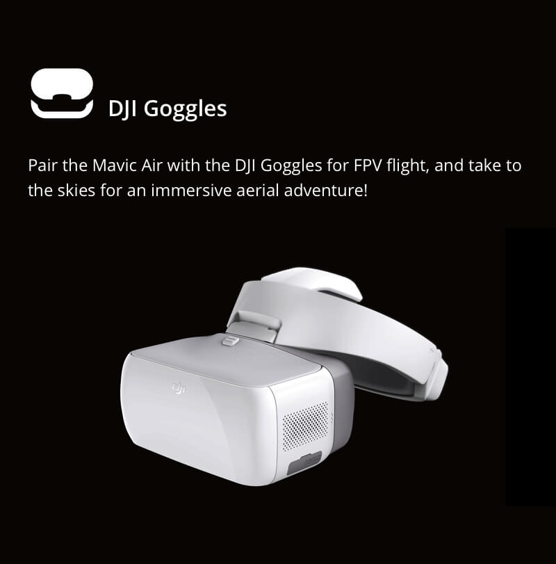 DJI Mavic Air - Pairs with DJI Goggles