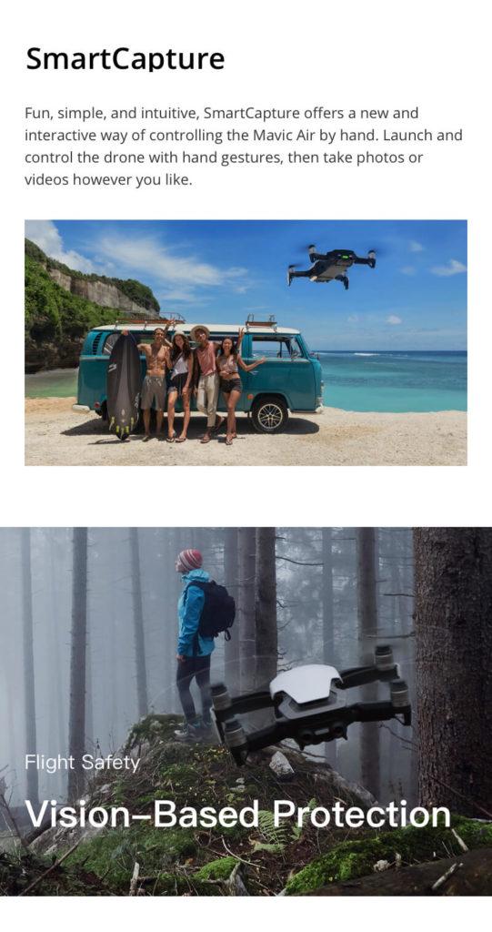 DJI Mavic Air - Smart Capture