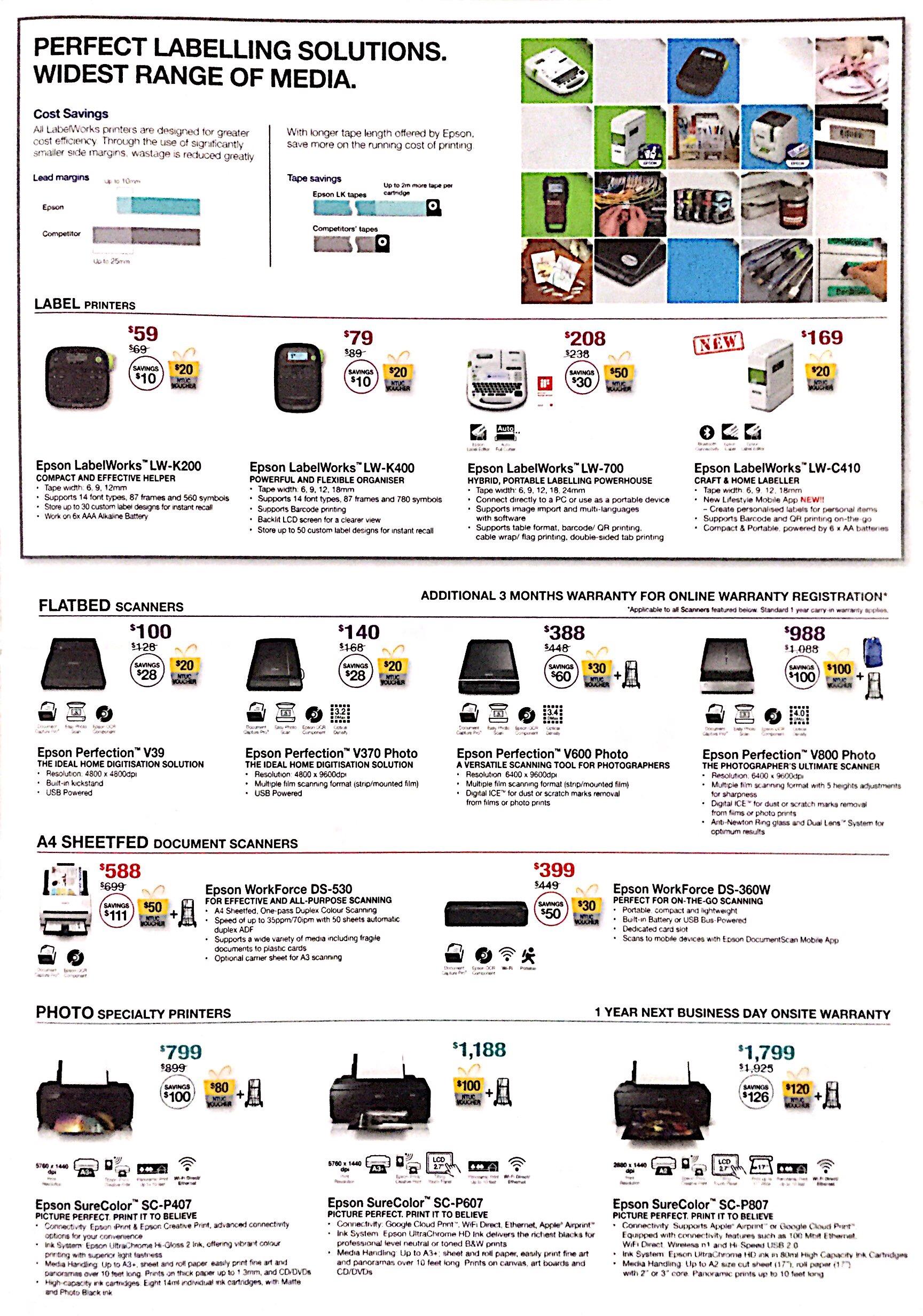 Epson Printer Deals @ CEF Show 2017 | Brochure pg3