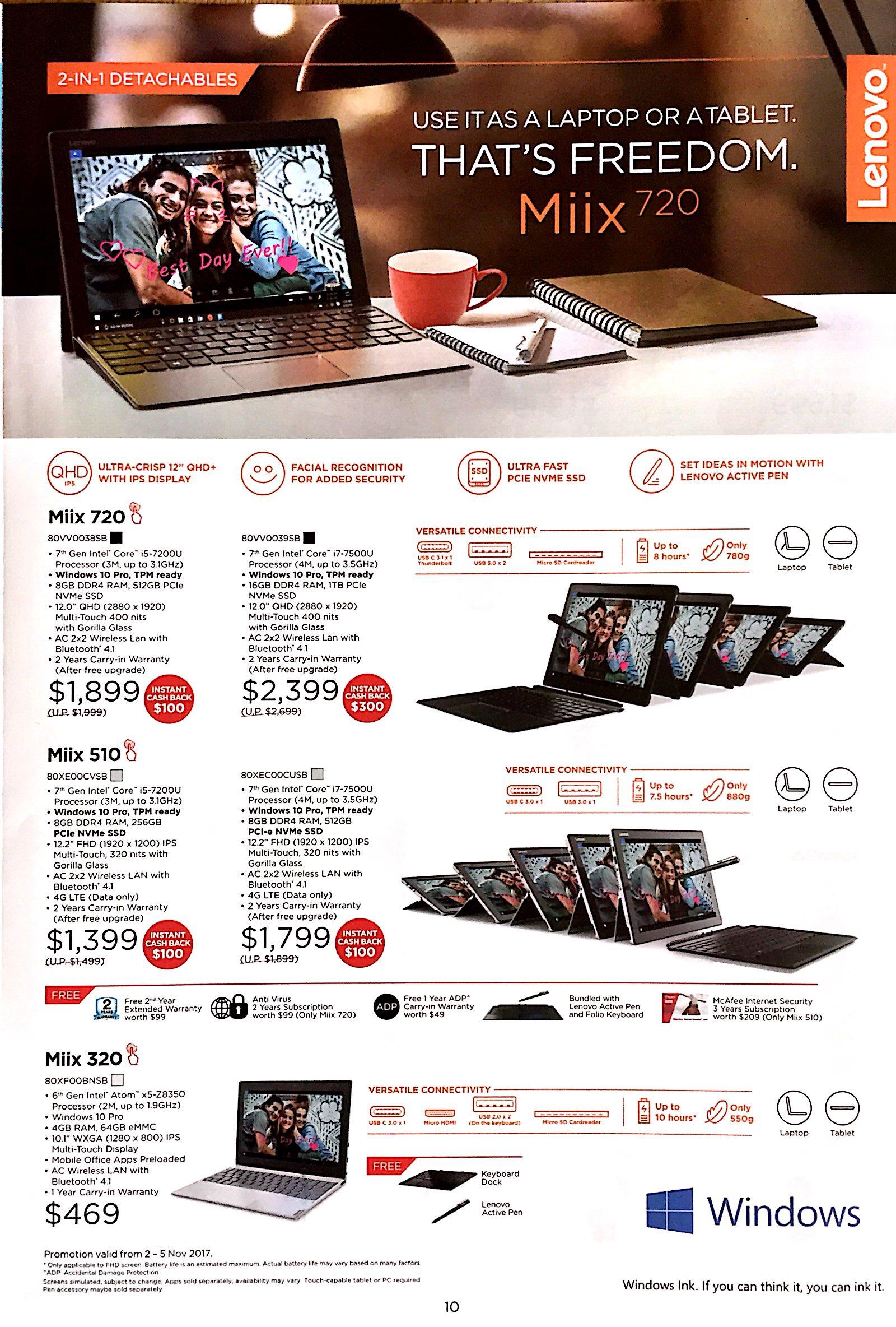 Lenovo Deals @ CEF Show 2017 | Brochure pg9