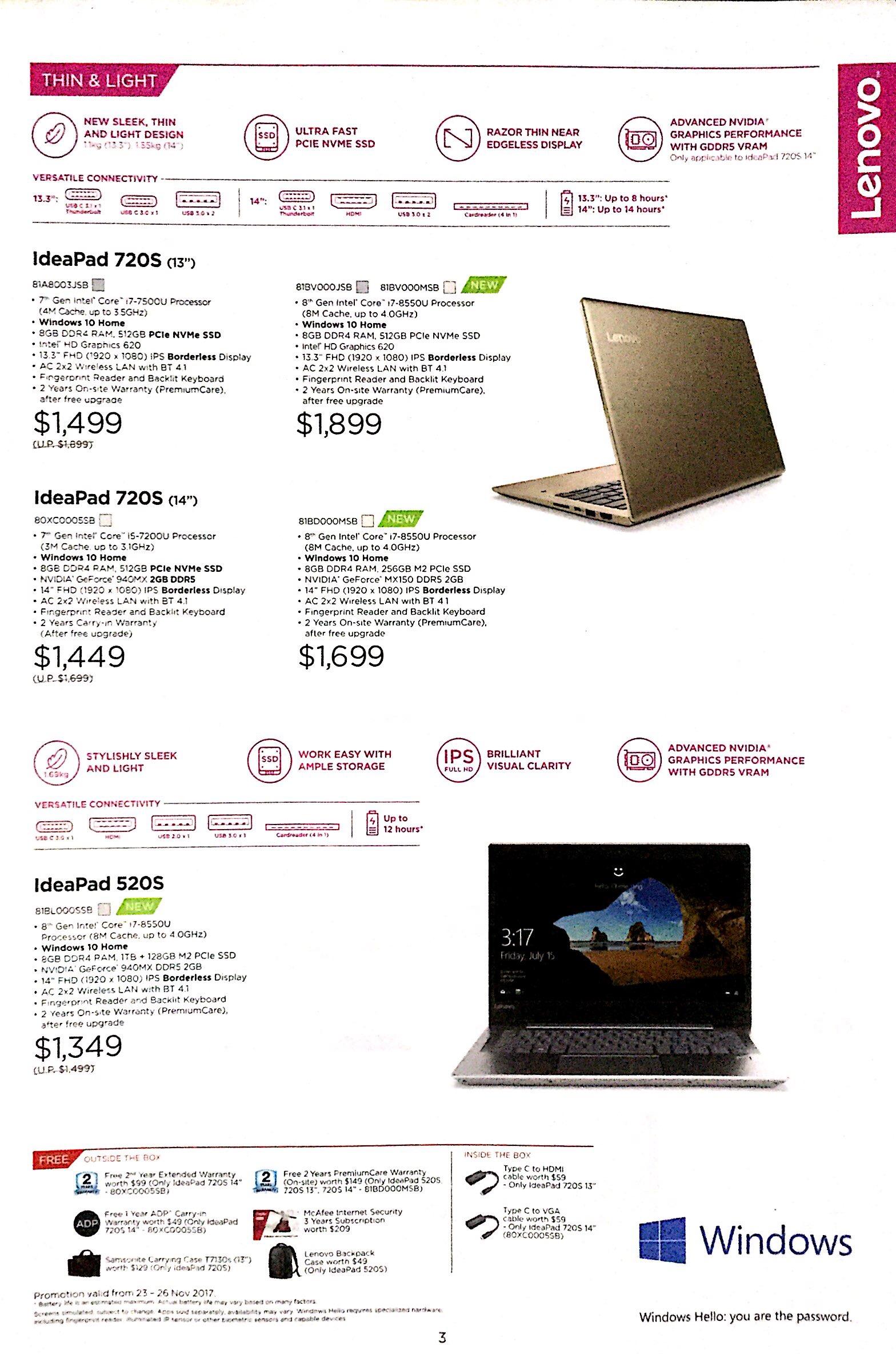 Lenovo Deals @ SITEX 2017   Brochure pg3