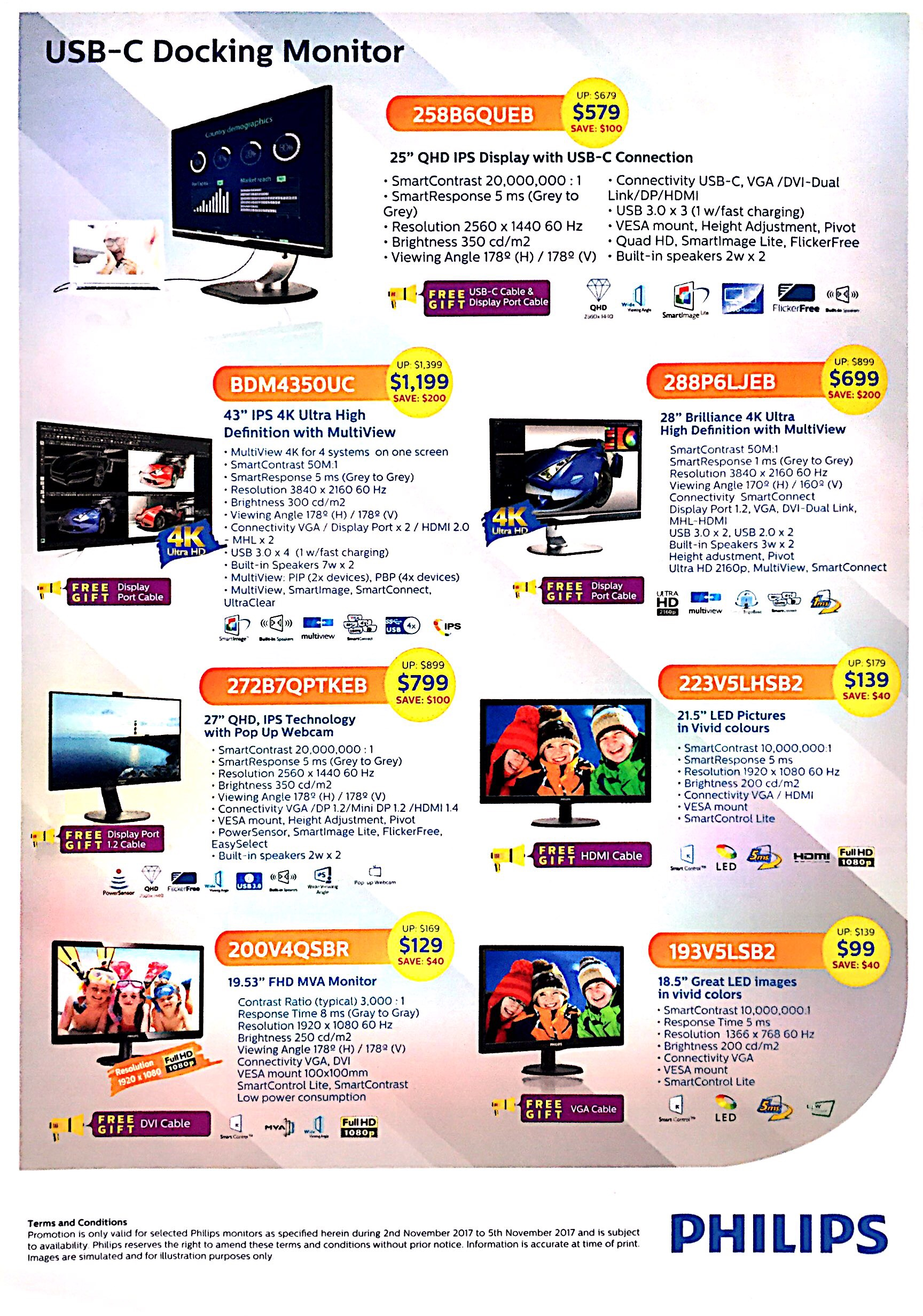 Philips Monitor Deals @ CEF Show 2017 | Brochure pg2