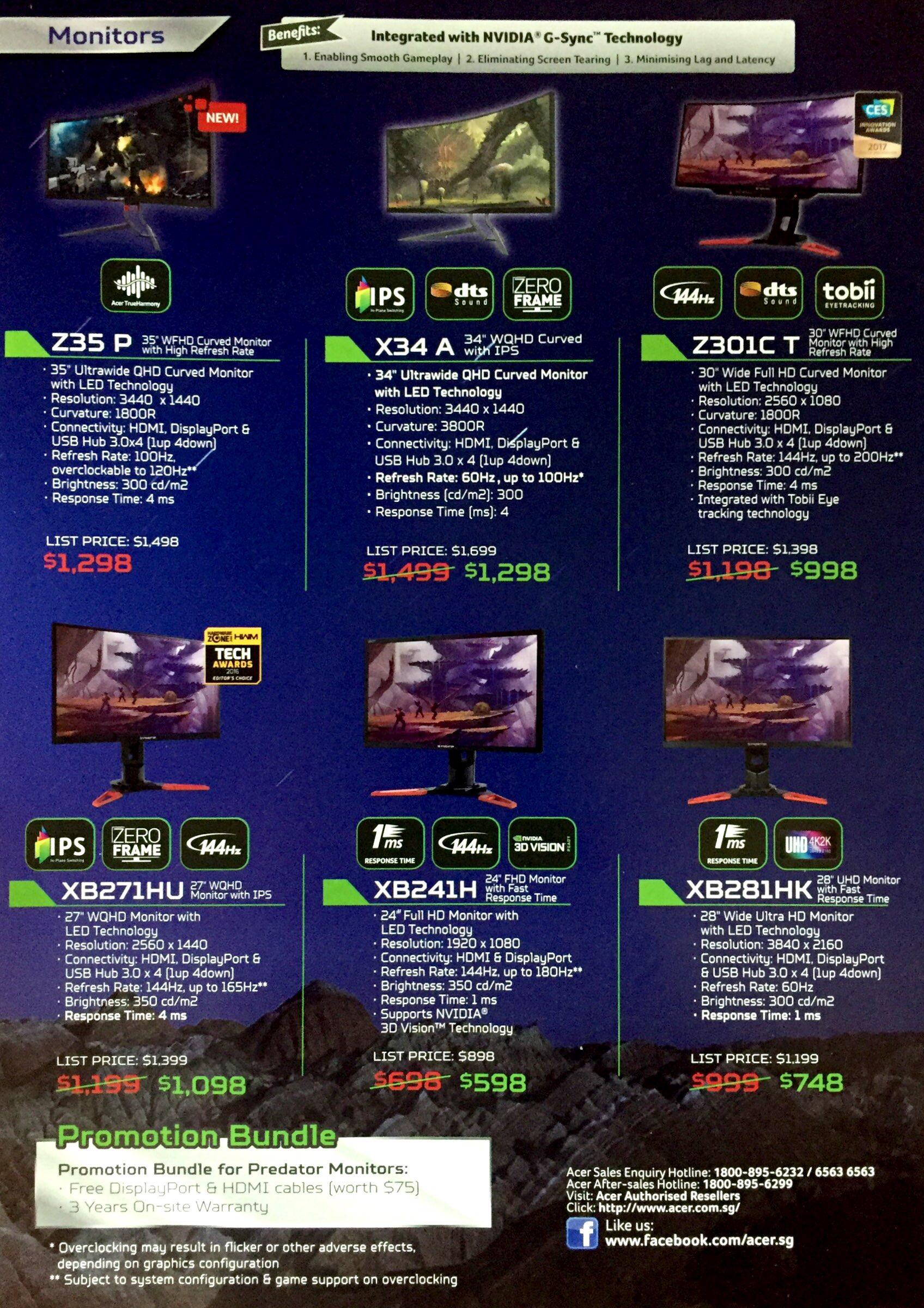 Predator Deals @ CEF Show 2017 | Brochure pg4