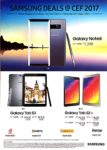 Samsung Deals @ CEF Show 2017   Brochure pg1