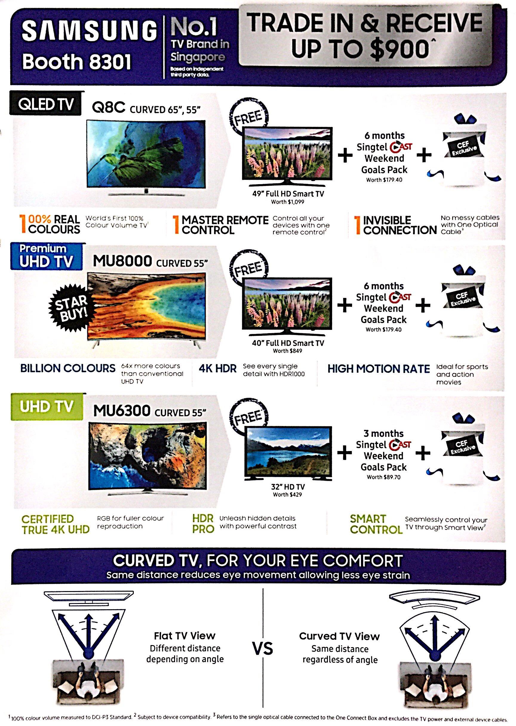Samsung Monitor Deals @ CEF Show 2017 | Brochure pg2