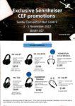 Sennheiser Headphones Deals @ CEF Show 2017   Brochure pg1