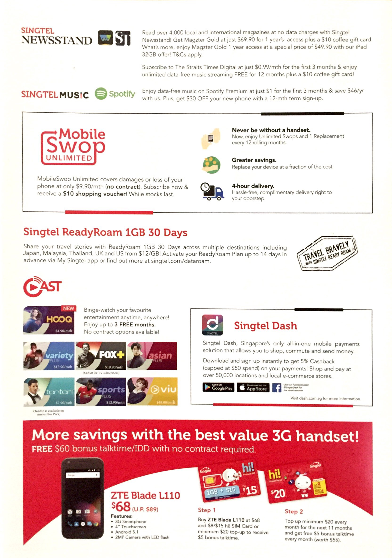 Singtel Deals @ SITEX 2017 | Brochure pg6