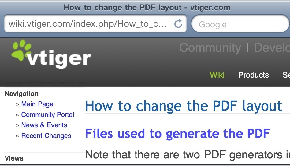 How To Change Vtiger Crm Pdf Layout Template Adrian Video Image