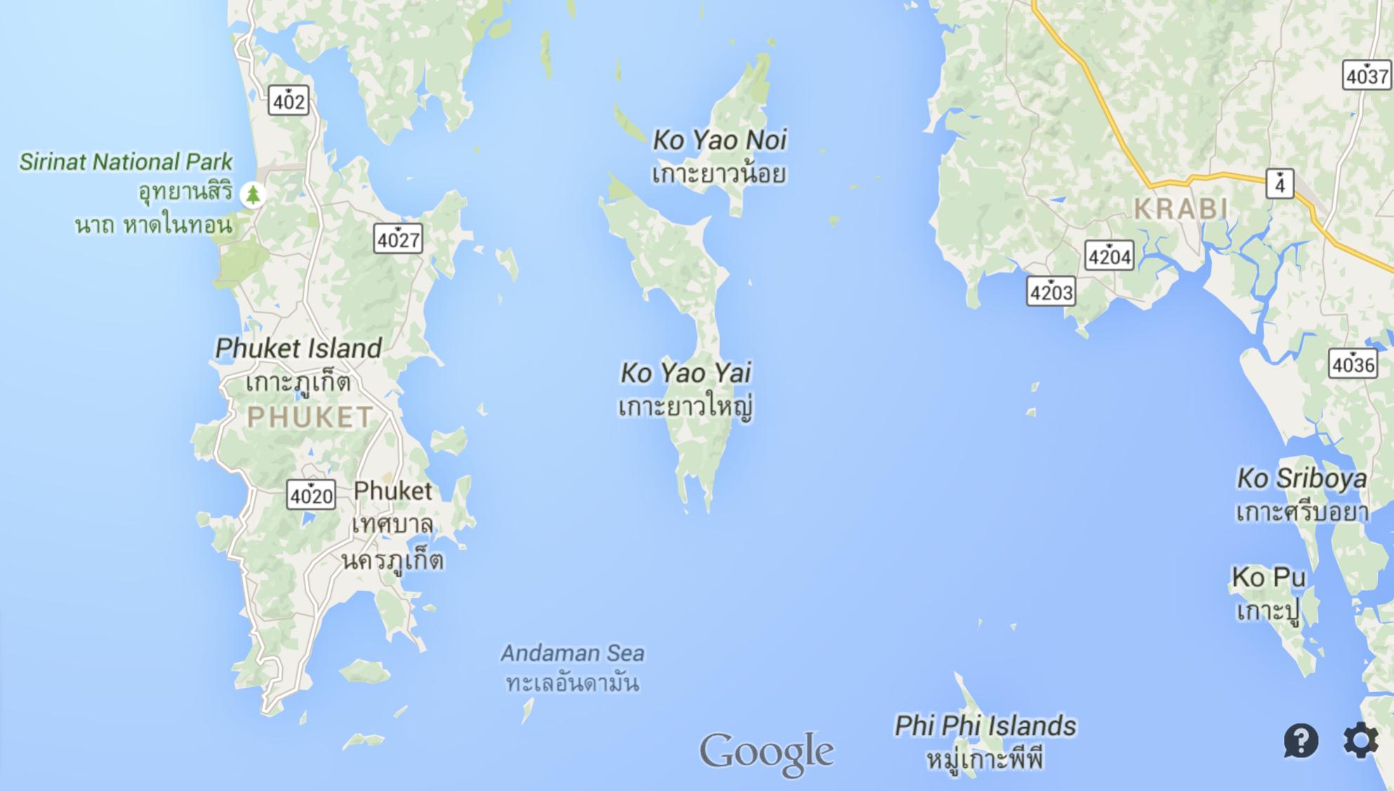 Google map of phuket thailand adrian video image google map of phuket thailand gumiabroncs Images