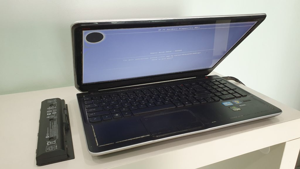 Hp pavilion dv6 notebook pc i7